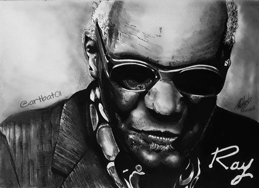 Ray Charles par art-bat